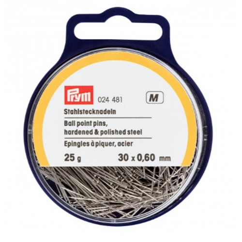 30mm Ball Point Pins 25g Tub (024481)