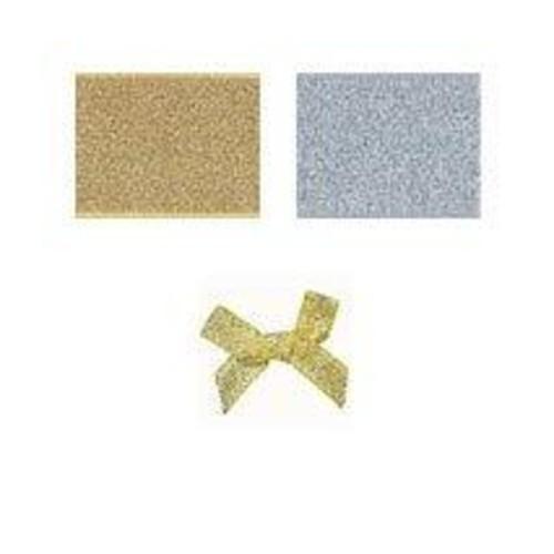 (08606L) Ribbon Bow 7mm Lurex (Gold)