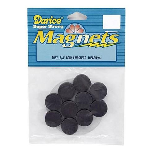 10 x Magnets Round 0.625 Inch (1037M)