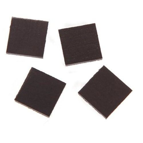 4 x Magnets Square 3/4 Inch (1041M)