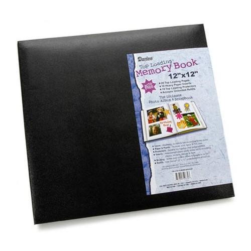 Memory Book 12 x 12 Inch Black (1201-56)