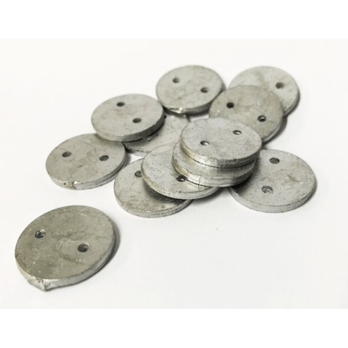 25mm Lead Penny Weights Round Bag/200 (1804725)