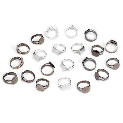 Ring Blanks Assorted 21 Piece Value Pack (1999-7565)