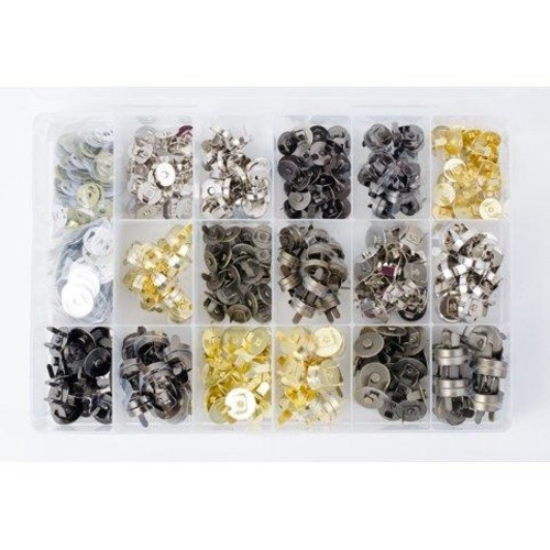 Magnetic Purse & Bag Clasps 180 Set Case 20001/OH