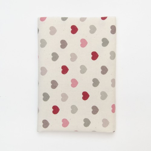 (2129-159) - A4 Fusible Fabric - Modern Hearts