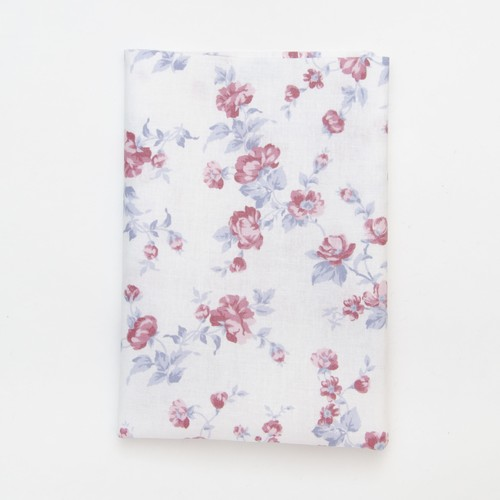 (2129-161) - A4 Fusible Fabric - Vintage Rose on Cream