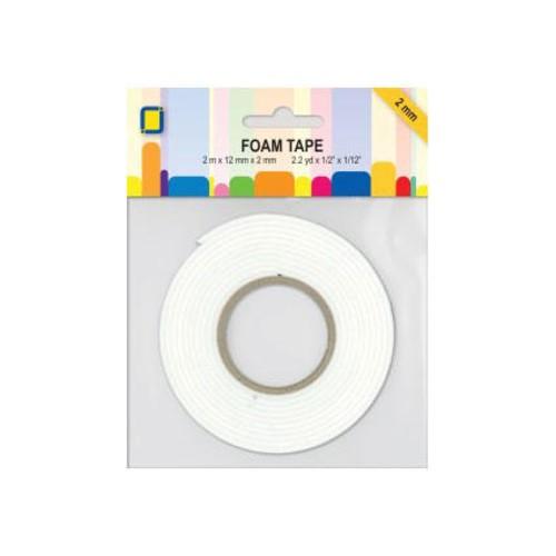 12mm Foam Tape 2mm x x 2m (3.3000)