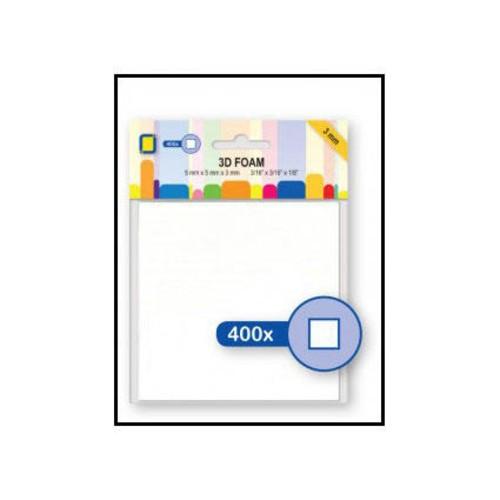 Foam Square Pads 3mm x 5mm x 5mm (3.3103)