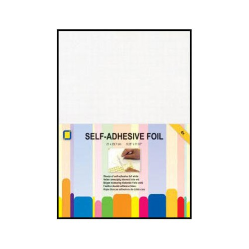 Double-Sided Adhesive Foil A4 White 4 Pack (3.5)000