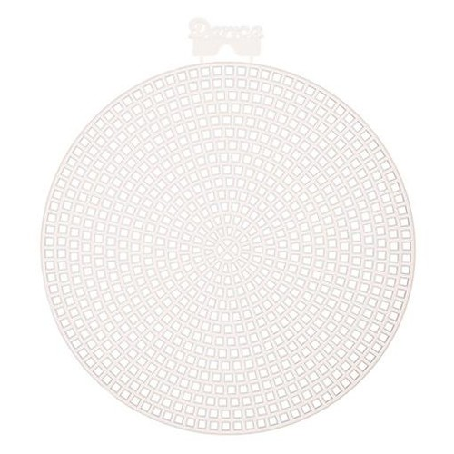 10 x Plastic Canvas 4.5 Inch Circle Shapes 7 Mesh (33004)