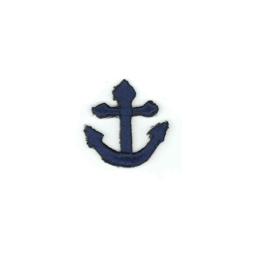 20mm x 20mm Motif Anchor Navy Blue (33861)