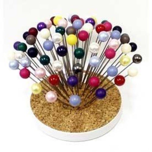 Hat Pins Assorted Colours 72 Piece (350)