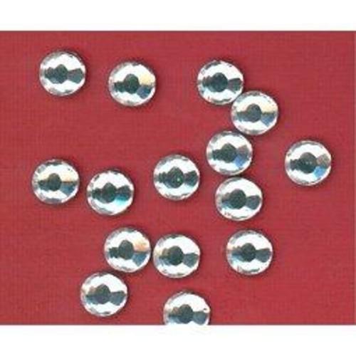 144 x Foil Back Diamante Stone Clear 4mm