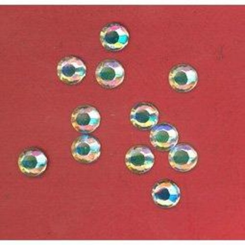 144 x Foil Back Diamante Stone A/B 7mm