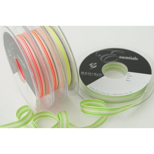 (6012210) Neon Stripe Ribbon