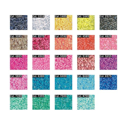 Bugle Beads 2mm 10g Tube (603031) (1000)