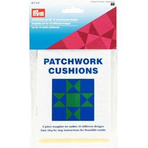 Patchwork Cushions 6 Piece Template Set (611147)