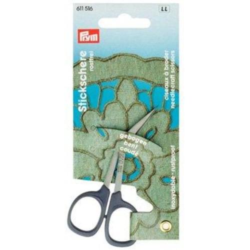 Prym Kai 10cm Embroidery Scissors Curved (611516)