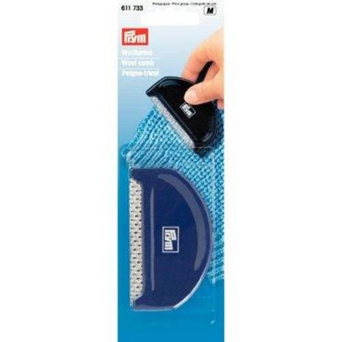 Plastic Wool Comb Brown (611733)