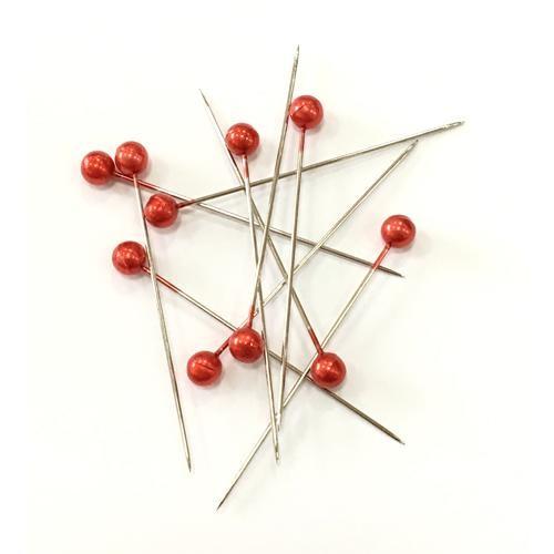 Craft Pins Red 40 x 0.58mm 144 Piece Box (66851)