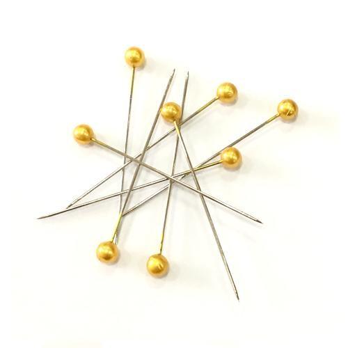 Craft Pins Gold 40 x 0.58mm 144 Piece Box (66881)