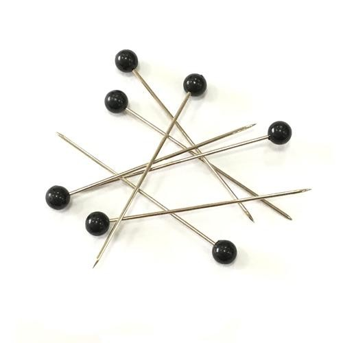 Craft Pins Black 38 x 0.66mm 144 Piece Box (66951)