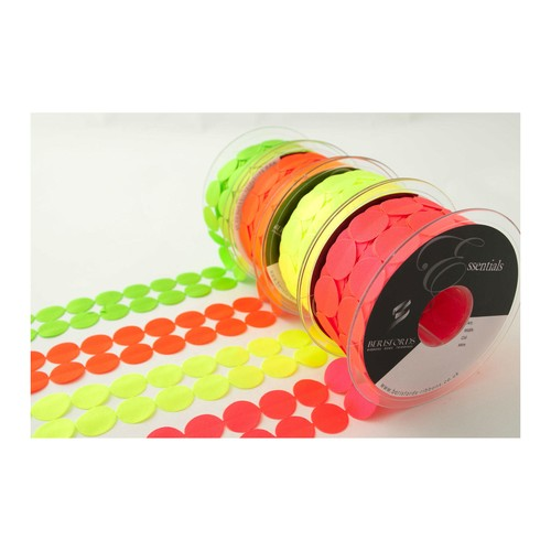 (7000140) Circles Laser Embossed Ribbon