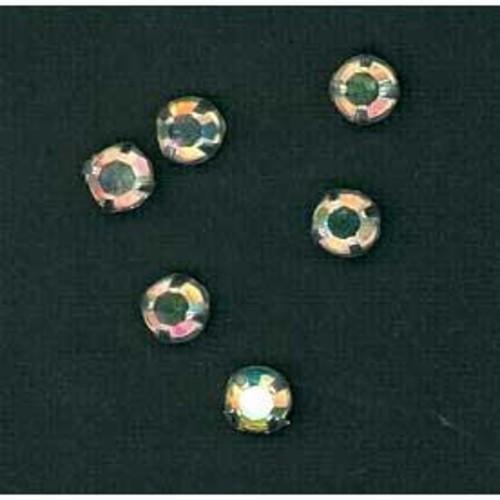 Brilliant Cut Sew On Diamante 5mm 20 AB 144 Pack