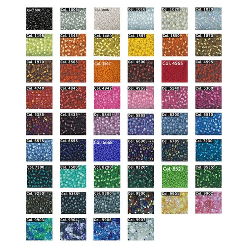 (773875) Seed Beads 9/0 28g Tube (7500)