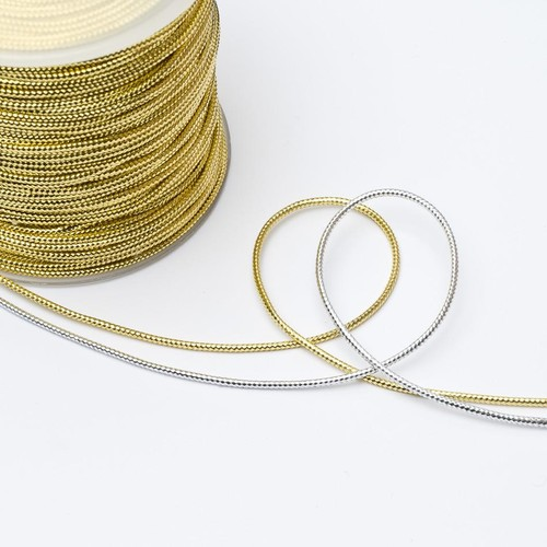 (812104) Metallic Cord 2mm x 100m