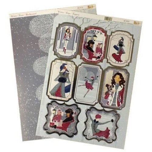 Toppers Winter Days 2 A4 Set (AC303)