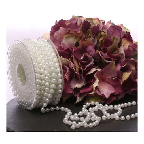 6mm Ivory Pearls/Bead String 10m AP-CCA2194