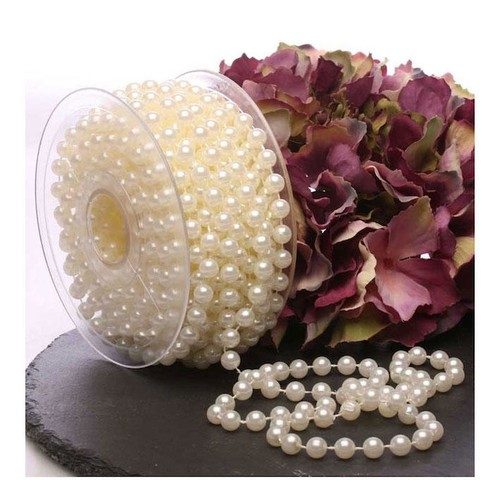 8mm Ivory Pearls/Bead String 10m (AP-CCA2195)