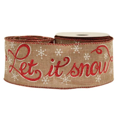 (AP-RI6897) Let It Snow Hessian 63mm x 10y