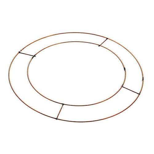 8 Inch Flat Wreath Frames/Rings x 20 (AP-WR5000)