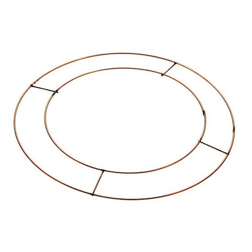 10 Inch Flat Wreath Frames/Rings x 20 (AP-WR5001)