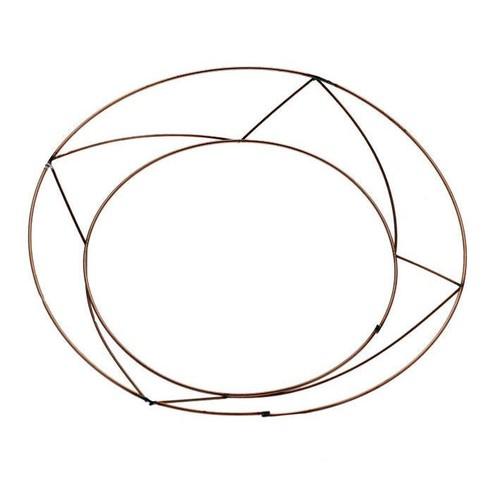 10 Inch Raised Wreath Frames/Rings x 20 (AP-WR5006)