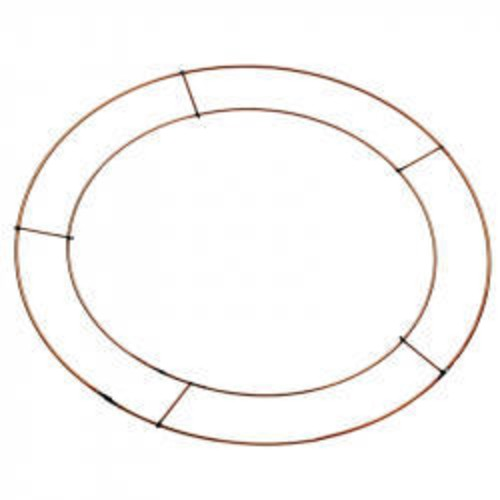 16 Inch Flat Wreath Frames/Rings x 20 (AP-WR5008)