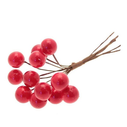 Red Berry Bunch x 12 Bunches Per Pack (AP-XMA1210)