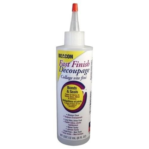 Beacon Adhesives - Fast Finish Decoupage Glue