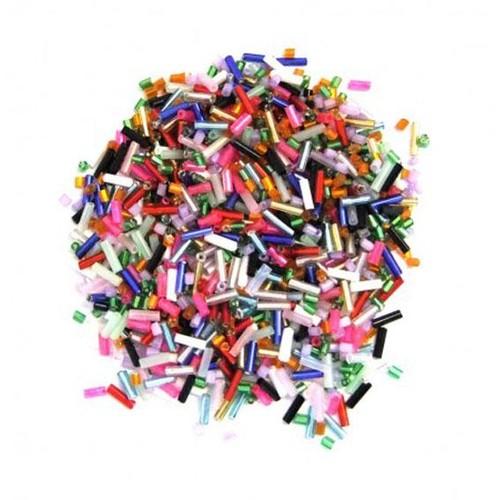 Bugle Beads Size 3 Mixed 10 Pack (BBM)