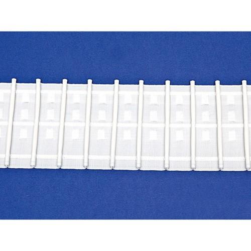 Bellini Pencil Pleat 100mm White 50m Roll