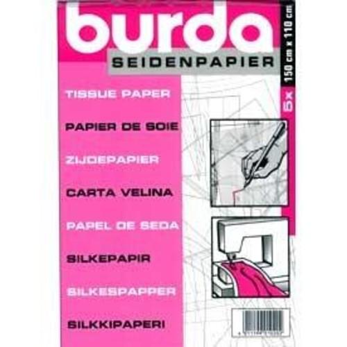 (BTPT) Burda Tracing Paper Tissue 5 Sheet Pack