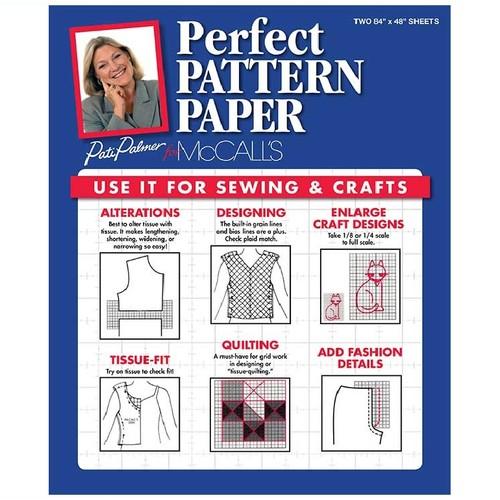 (BUGP) Butterick Tissue Paper - Grid Pattern