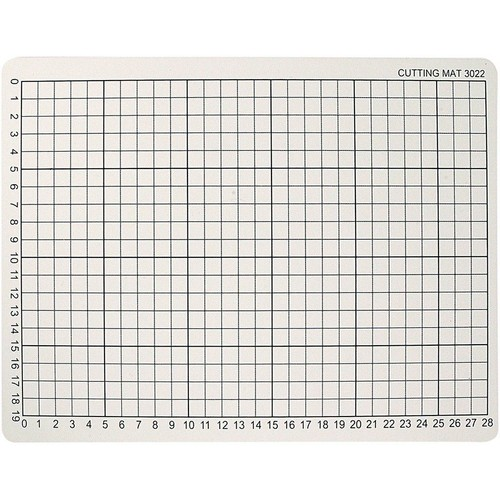 (CC11722) - Cutting Mat, Size 22x30cm, Thickness 3mm, 1pc