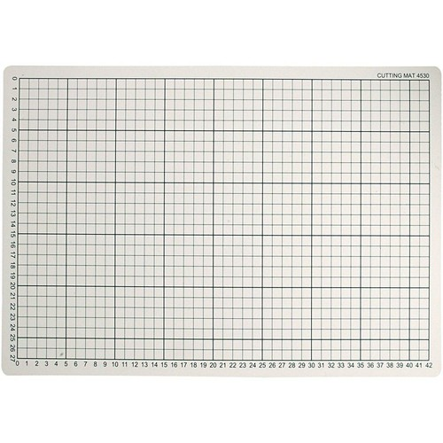 (CC11730) - Cutting Mat, Size 30x45cm, Thickness 3mm, 1pc