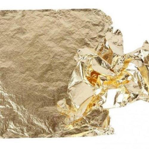 Imitation Gold Leaf 16 x 16cm 25 Sheets (CC20481)