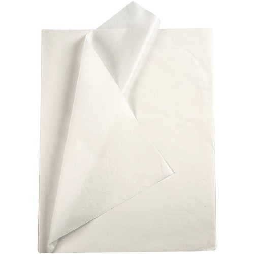 Tissue Paper 14g - 50x70cm - 25pcs - White (CC20860) Creativ