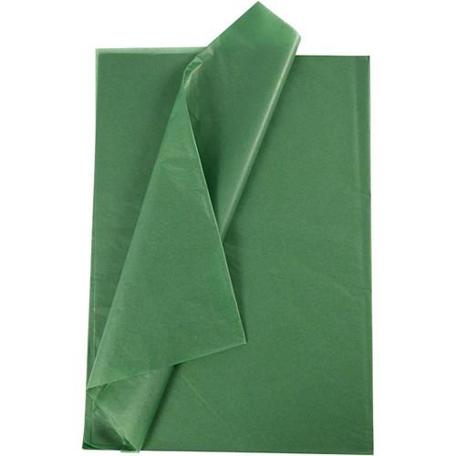 Tissue Paper 14g - 50x70cm - 25pcs - Green (CC20867) Creativ