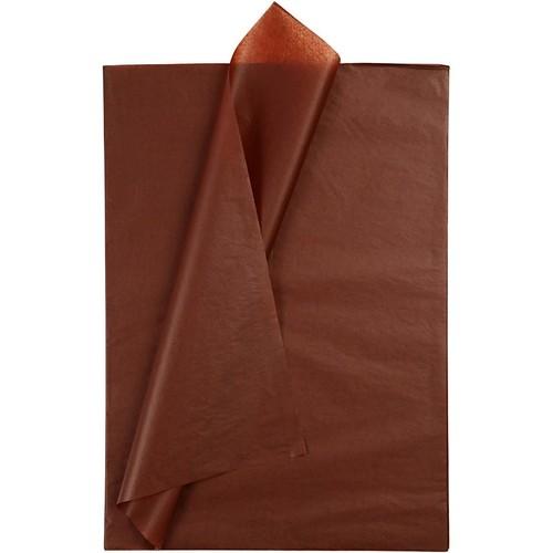 Tissue Paper 14g - 50x70cm - 25pcs - Brown (CC20868) Creativ
